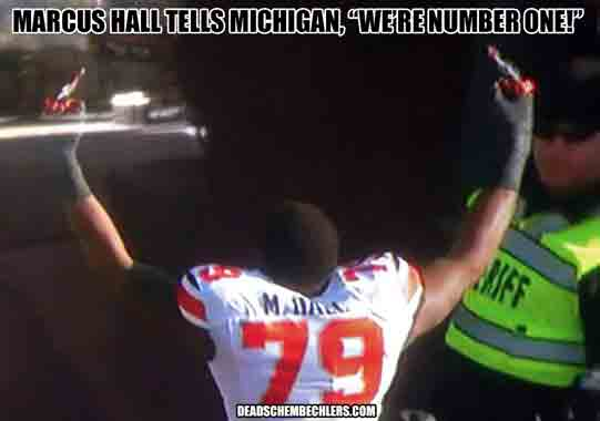 MARCUS HALL OSU DEAD SCHEMBECHLERS OHIO STATE