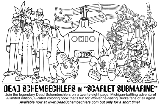 HARBAUGH TO HELL By Dead Schembechlers